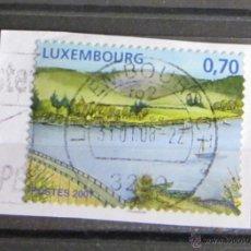 Sellos: LUXEMBURGO 0,70 €. 2007. PEGADO. Lote 47609239