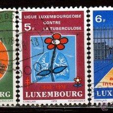 Sellos: LUXEMBURGO. 1978. SERIE. ASOCIACIONES FILANTROPICAS. *,MH. Lote 52333201