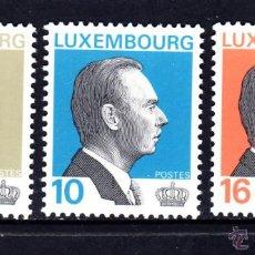 Sellos: LUXEMBURGO 1307/09** - AÑO 1995 - GRAN DUQUE JUAN DE LUXEMBURGO. Lote 52358307