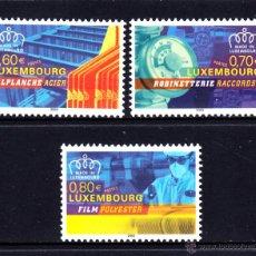 Sellos: LUXEMBURGO 1565/67** - AÑO 2003 - HECHO EN LUXEMBURGO - PRODUCTOS INDUSTRIALES. Lote 52358439