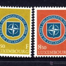 Sellos: LUXEMBURGO 562/63** - AÑO 1959 - 10º ANIVERSARIO DE LA OTAN. Lote 195437910