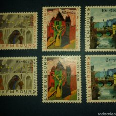 Sellos: SELLOS DE LUXEMBURGO. YVERT 654/9. SERIE COMPLETA NUEVA SIN CHARNELA.. Lote 52894238