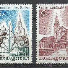 Timbres: LUXEMBURGO - 1979 - MICHEL 985/986 // SCOTT 622/623** MNH. Lote 54578835