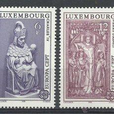 Timbres: LUXEMBURGO - 1978 - MICHEL 967/968 // SCOTT 609/910** MNH. Lote 54602876