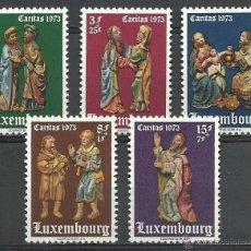 Timbres: LUXEMBURGO - 1973 - MICHEL 871/875 // SCOTT B292/B296** MNH. Lote 54643742