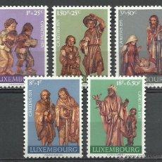 Timbres: LUXEMBURGO - 1971 - MICHEL 836/840 // SCOTT B282/B286** MNH. Lote 54643807