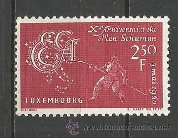 LUXEMBURGO YVERT NUM. 578 ** SERIE COMPLETA SIN FIJASELLOS (Sellos - Extranjero - Europa - Luxemburgo)