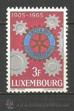 LUXEMBURGO YVERT NUM. 668 ** SERIE COMPLETA SIN FIJASELLOS (Sellos - Extranjero - Europa - Luxemburgo)