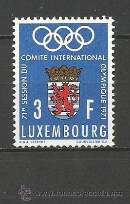 LUXEMBURGO YVERT NUM. 777 ** SERIE COMPLETA SIN FIJASELLOS (Sellos - Extranjero - Europa - Luxemburgo)