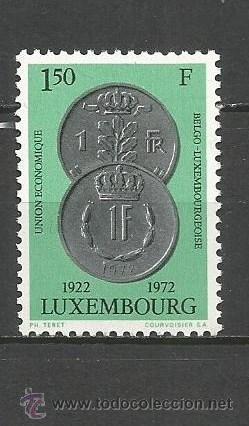 LUXEMBURGO YVERT NUM. 795 ** SERIE COMPLETA SIN FIJASELLOS (Sellos - Extranjero - Europa - Luxemburgo)