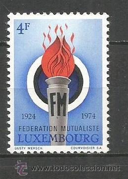 LUXEMBURGO YVERT NUM. 827 ** SERIE COMPLETA SIN FIJASELLOS (Sellos - Extranjero - Europa - Luxemburgo)