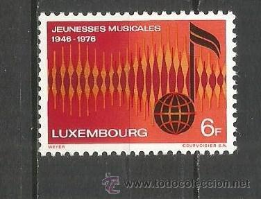 LUXEMBURGO YVERT NUM. 882 ** SERIE COMPLETA SIN FIJASELLOS (Sellos - Extranjero - Europa - Luxemburgo)