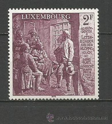 LUXEMBURGO YVERT NUM. 939 ** SERIE COMPLETA SIN FIJASELLOS (Sellos - Extranjero - Europa - Luxemburgo)