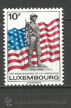 LUXEMBURGO YVERT NUM. 1061 ** SERIE COMPLETA SIN FIJASELLOS (Sellos - Extranjero - Europa - Luxemburgo)