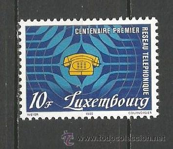 LUXEMBURGO YVERT NUM. 1073 ** SERIE COMPLETA SIN FIJASELLOS (Sellos - Extranjero - Europa - Luxemburgo)