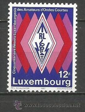 LUXEMBURGO YVERT NUM. 1123 ** SERIE COMPLETA SIN FIJASELLOS (Sellos - Extranjero - Europa - Luxemburgo)