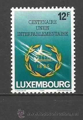 LUXEMBURGO YVERT NUM. 1173 ** SERIE COMPLETA SIN FIJASELLOS (Sellos - Extranjero - Europa - Luxemburgo)