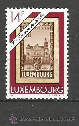 LUXEMBURGO YVERT NUM. 1230 ** SERIE COMPLETA SIN FIJASELLOS (Sellos - Extranjero - Europa - Luxemburgo)
