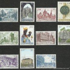 Timbres: LUXEMBURGO - 1963 - MICHEL 667/677 // SCOTT 389/399** MNH. Lote 56153210