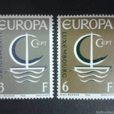 Sellos: SELLOS DE LUXEMBURGO. EUROPA CEPT. YVERT 684/5. SERIE COMPLETA NUEVA SIN CHARNELA.. Lote 59188226