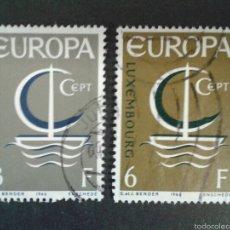 Sellos: SELLOS DE LUXEMBURGO. EUROPA CEPT. YVERT 684/5. SERIE COMPLETA USADA.. Lote 59548036