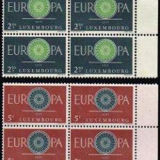 Sellos: 1960 LUXEMBURGO TEMA EUROPA MNH**. Lote 69002349