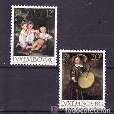 Sellos: LUXEMBURGO 1989 IVERT 1169/70 *** EUROPA - JUEGOS INFANTILES. Lote 78905493