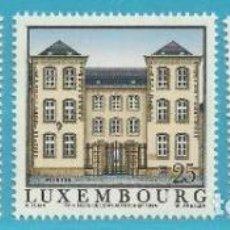 Sellos: LUXEMBURGO 1994 IVERT 1300/2 *** ANTIGUOS REFUGIOS DE LUXEMBURGO - ARQUITECTURA. Lote 79041653