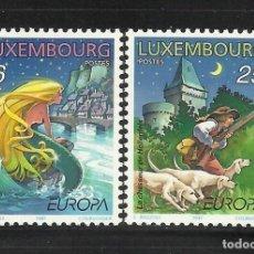 Sellos: LUXEMBURGO 1997 IVERT 1368/9 *** EUROPA - CUENTOS Y LEYENDAS. Lote 79752205