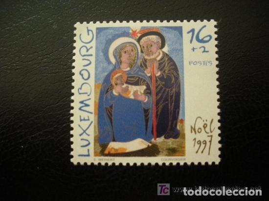LUXEMBURGO 1997 IVERT 1385 *** NAVIDAD - LA SAGRADA FAMILIA (Sellos - Extranjero - Europa - Luxemburgo)