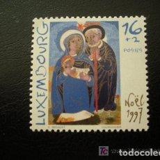 Sellos: LUXEMBURGO 1997 IVERT 1385 *** NAVIDAD - LA SAGRADA FAMILIA. Lote 79753193
