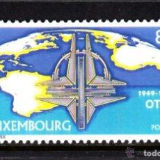 Sellos: LUXEMBURGO 1999 IVERT 1421 *** 50º ANIVERSARIO DE LA OTAN - ORGANIZACIÓN DEL TRATADO ATLANTICO NORTE. Lote 79869009