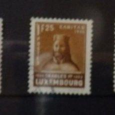 Sellos: LUXEMBURGO, YVERT 279-181, USADOS, VALOR CATALOGO 120 EUROS. Lote 89265244