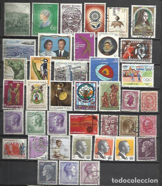 Q795-SELLOS LUXEMBURGO SIN TASAR,BUENOS VALORES,VEAN ,FOTO REAL.LUXEMBOURG STAMPS WITHOUT TASAR, GOO (Sellos - Extranjero - Europa - Luxemburgo)