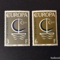 Sellos: LUXEMBURGO Nº YVERT 684/5*** AÑO 1966. EUROPA. Lote 99906227