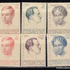 Sellos: LUXEMBURGO, 1938 YVERT Nº 325 / 329 / * /. Lote 117917215