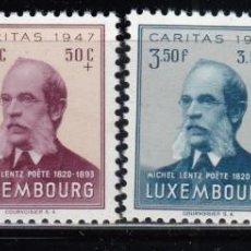 Sellos: LUXEMBURGO, 1948 YVERT Nº 410 / 413 / ** /. Lote 117950675