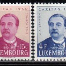 Sellos: LUXEMBURGO, 1948 YVERT Nº 439 / 442 / ** /. Lote 117950771