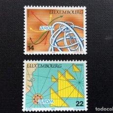 Sellos: LUXEMBURGO Nº YVERT 1290/1*** AÑO 1994. EUROPA. EUROPA Y LOS DESCUBRIMIENTOS. Lote 124466119