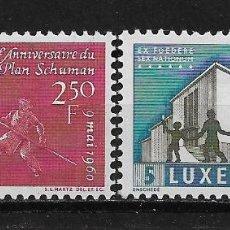 Sellos: LUXEMBURGO 1960 SC # 359/360 MNH - 5/19. Lote 125347015
