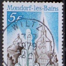 Sellos: LUXEMBURGO 1979 ~ TURISMO: MONDORF-LES-BAINS ~ SELLO USADO BUENO. Lote 132288994