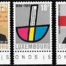 Sellos: LUXEMBURGO 1989. ANIVERSARIOS. PERSONAJES. CRUZ ROJA. YT 1164-66 NUEVO (MNH). Lote 132763710