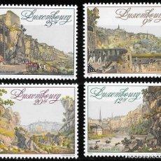 Sellos: LUXEMBURGO 1990. 175º ANIVERSARIO CONGRESO DE VIENA. YT 1186-89 NUEVO (MNH). Lote 132765122