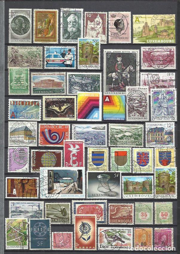 G550-SELLOS LUXEMBURGO SIN TASAR,BUENOS VALORES,VEAN ,FOTO REAL.LUXEMBOURG STAMPS WITHOUT TASAR, GOO (Sellos - Extranjero - Europa - Luxemburgo)
