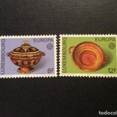 Sellos: LUXEMBURGO Nº YVERT 878/9*** AÑO 1976. EUROPA. . Lote 138630702