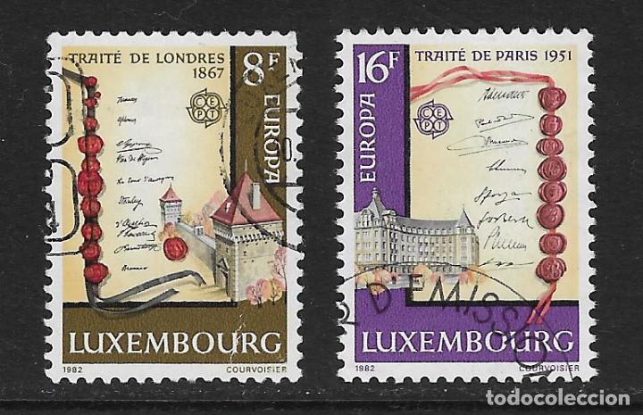 LUXEMBURGO. YVERT NSº 1002/03 USADOS (Sellos - Extranjero - Europa - Luxemburgo)