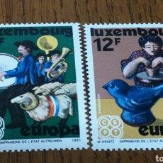Sellos: LUXEMBURGO :EUROPA 1981 MNH. Lote 154313516