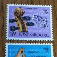 Sellos: LUXEMBURGO : YT. 1075/76 MNH. TEMA EUROPA, MÚSICA.. Lote 154837906
