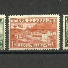 Sellos: LUXEMBURGO, 1921, MI. 137/9, MH*. Lote 158703324