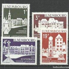 Sellos: LUXEMBURGO - 1975 - MICHEL 900/903** MNH. Lote 207406345